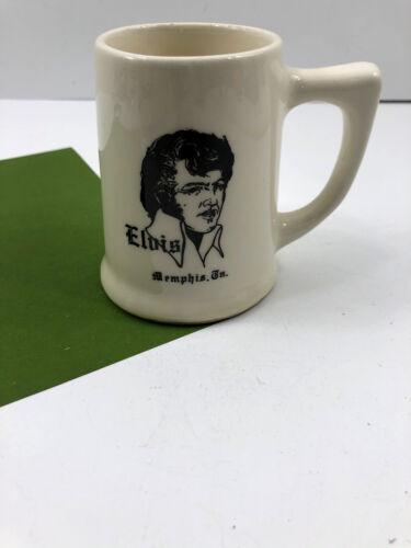VIntage ELVIS Presley Memphis TN Souvenir Beer Bar Mug Ceramic