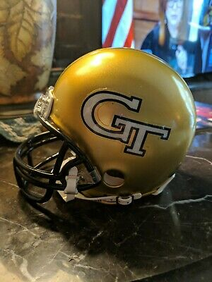GEORGIA TECH YELLOW JACKETS RIDDELL Mini Helmet NCAA ACC RAMBLIN WRECK