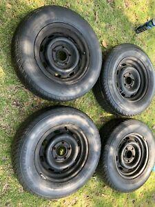 Holden lc lj gtr lh lx torana factory 13 x5.5 wheels x4 good tyres