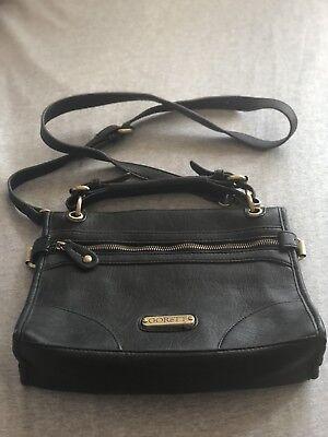 Vintage Black handbag Unusual Design