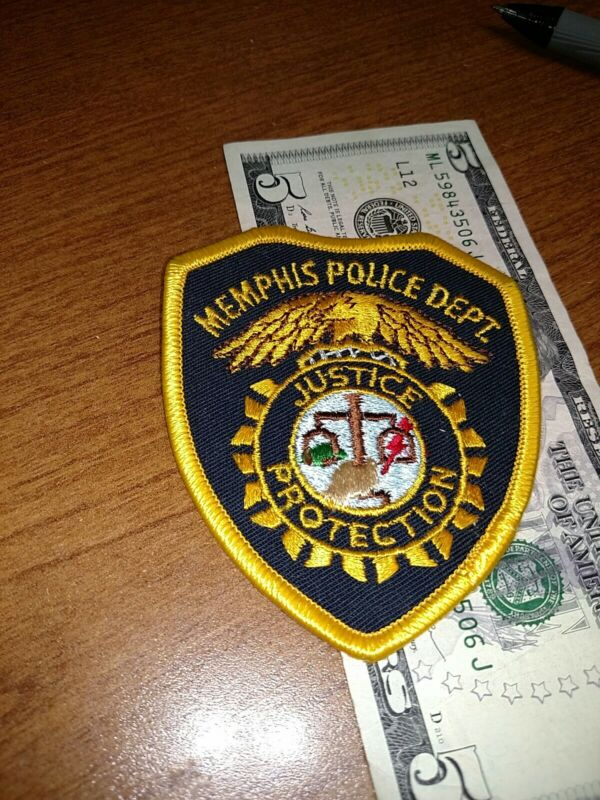 Memphis Tennessee Police Department Patch New Old Stock
