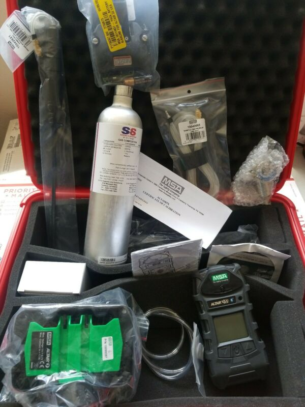 MSA Altair 5X Multi-Gas Detector with Bluetooth and Charger!