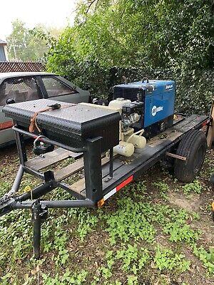 Miller Electric Bobcat 250 Efi Kohler Engine Driven Welder Series 12 000w