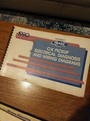 1990 Chevrolet C/K truck pickup electrical wiring diagrams service manual