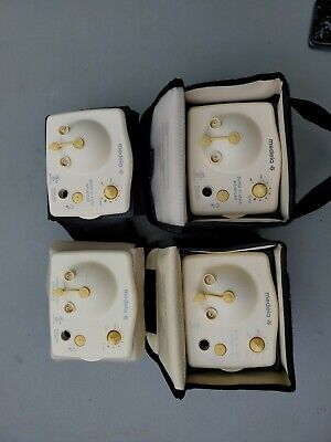 FREE SHIP! Lot of 4 Medela Pump In Style Advanced Double Breast Pump