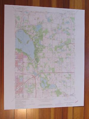 For sale White Bear Lake East Minnesota 1981 Original Vintage USGS Topo Map
