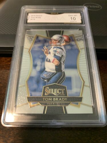 2016 Panini Select  #110 Tom Brady GRADED GEM 10 5339722