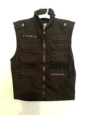 Rothco JR. G.I. Boy's Size Medium Ranger Vest Black Kids Black Ranger Vest