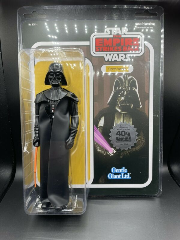 Star Wars Gentle Giant Jumbo 40th Anniversary TESB Darth Vader Figure 750 Pieces