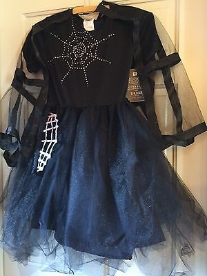 PB TEEN spider Fairy Costume Size 9-10 Halloween Dress Up NWT - Girls Spider Fairy Costume