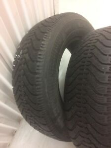 2 Goodyear winter tires:195/70R14