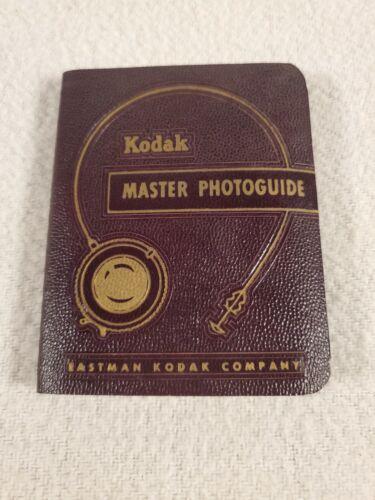 Vintage Kodak 1951 Master Photoguide Eastman Kodak Co Mint
