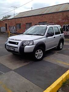 2004 Land Rover Freelander Wagon Fitzroy Yarra Area Preview