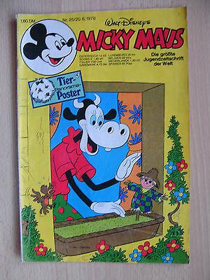 Micky Maus Hefte, Nr. 25  / Jahrg.1978 ,  Comics, Walt Disney,