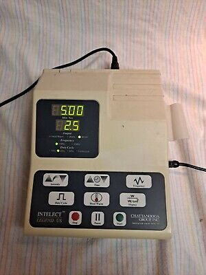Chattanooga Intelect Legend Us With Power Cord And Ultrasound Applicator