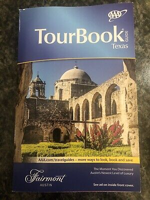 AAA TEXAS TourBook Vacation Travel Guide Book 2019-2020 Dallas Houston Waco Etc for sale  Shipping to Canada