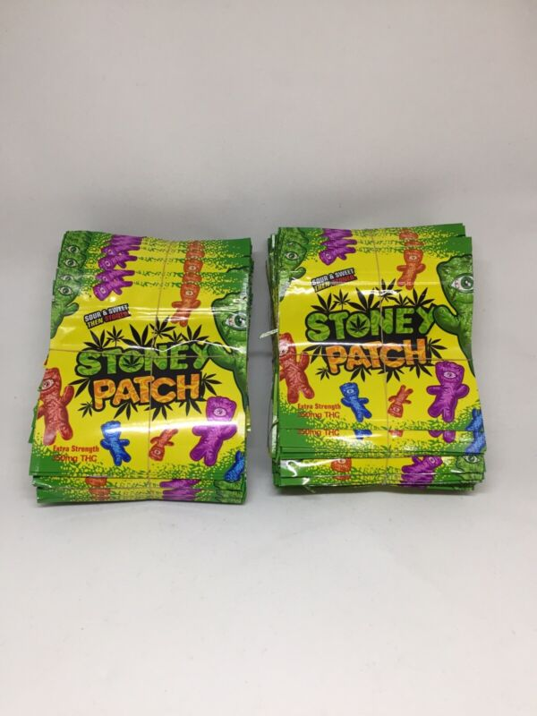 NEW Stoney Patch Mylar Resealable 3.5g Packaging ONLY Free Shipping