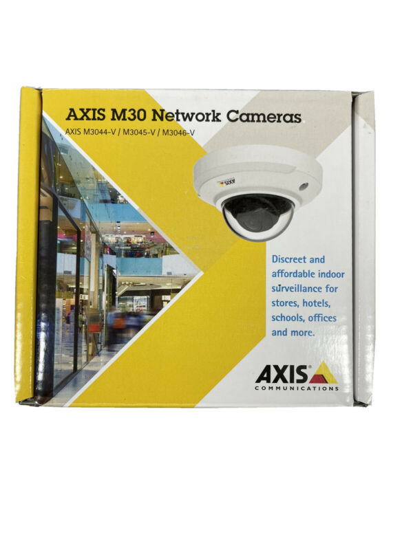 AXIS M30 Network Camera - Axis M3045--V Fixed Dome Network Camera CCTV