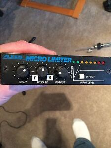 Alesis Micro Limiter and Micro Gate