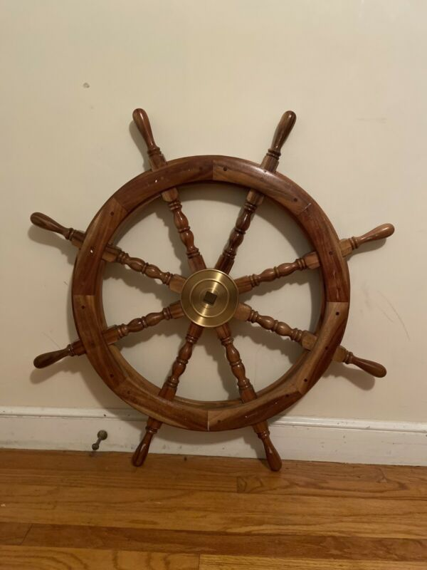 Captains Ship Wheel 36""
