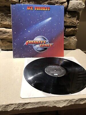 ACE FREHLEY (Kiss) Frehley's Comet 1987 Megaforce lp inner NM Wrapped 1st Press