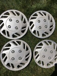 Wheel covers 13 inch matching set