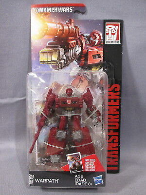 "Transformers Combiner Wars ""WARPATH"" Legends Class NEW 2014 Autobot Authentic"