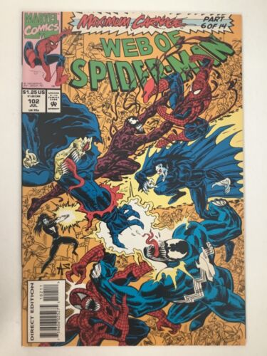 Web of Spiderman #102 VF/NM   Will Combine Ship Amazing