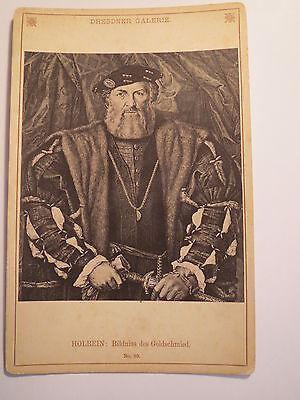Holbein - Bildniss des Goldschmied - Kunstbild Dresdner Galerie / KAB