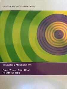 Marketing management / Russ Winer Ravi Dhar 4th edition Pyrmont Inner Sydney Preview