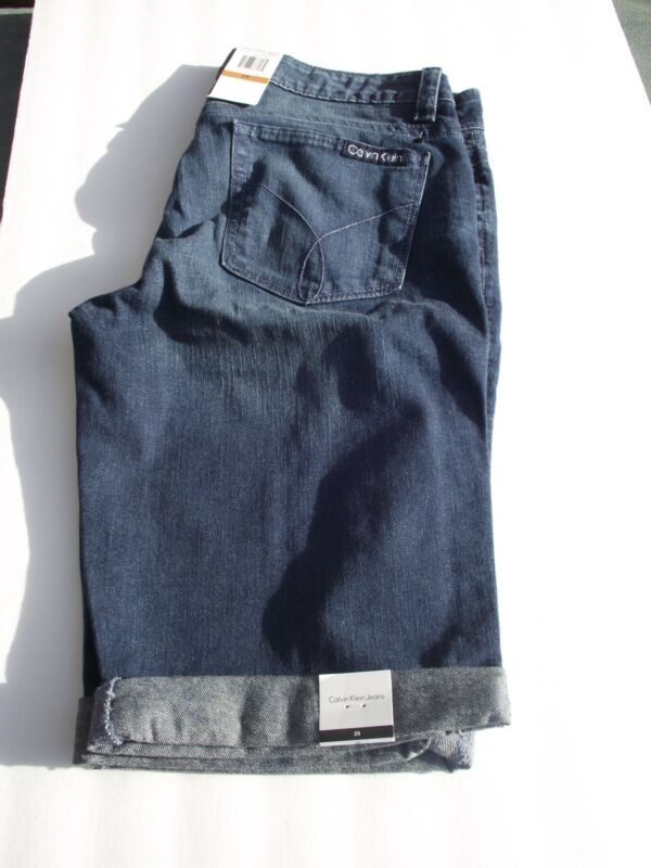 CALVIN KLEIN JEANS SHORTS SIZE  28/6 NWT MED. COLOR FREE SHIPPING