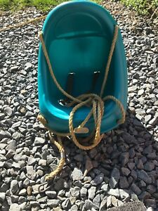 Little tykes swing. With ropes - reduced