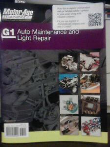 G1 ASE Study Guide - Auto Maintenace and Light Repair Motor Age