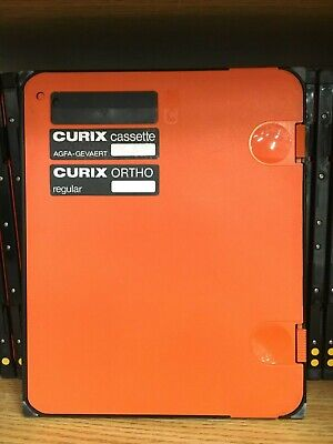 Agfa 8in X 10in Curix Cassette Curix Ortho Regular Screen