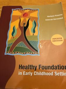 Healthy foundation in early childhood settings