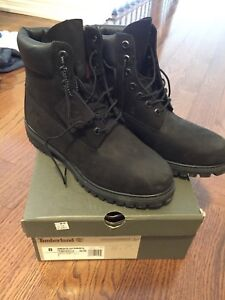 Black Suede Timberland Boots