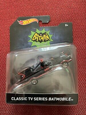 MATTEL 2015 HOT WHEELS BATMAN  1:50  CLASSIC TV SERIES BATMOBILE