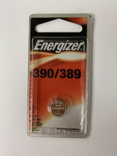 Energizer 390/389 Silver Oxide Cell  Battery-03/2021