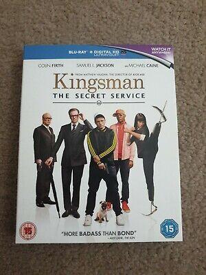 KINGSMAN THE SECRET SERVICE-BLU RAY