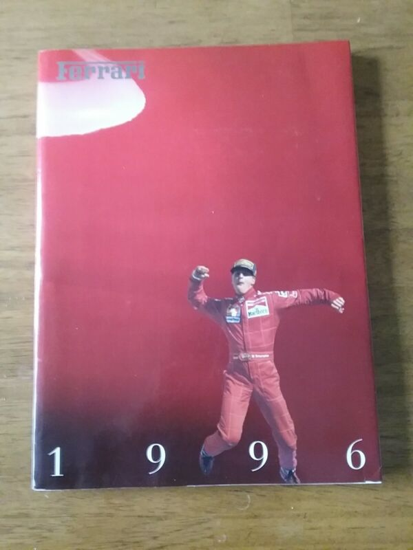 1996 Ferrari Yearbook - Published By Ferrari SpA- Softcover Book