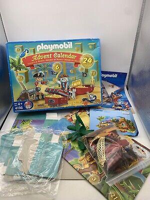 Playmobil 4156 Christmas Advent Calendar Pirates Playset Figures Box