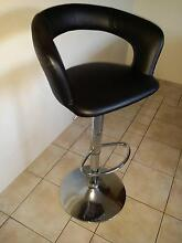 2 Black leather bar stools    $30 Each Matraville Eastern Suburbs Preview