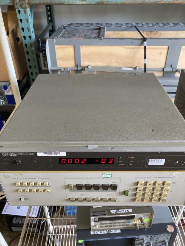 Agilent 8901A Modulation Analyzer (130KHz to 1300MHz)