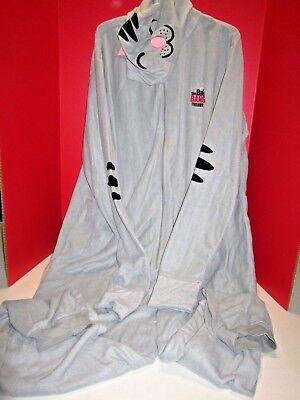 Big Bang Theory PJ Pajamas XXL Gray Cat Hood Costume 1 pc Soft Kitty Unionsuit](Soft Kitty Costume)