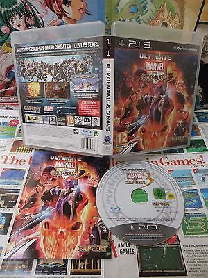 Playstation 3 PS3:Ultimate Marvel VS Capcom 3 [TOP & 1ERE EDITION RARE] Fr d'occasion  Expédié en Belgium