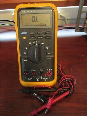 Fluke 87 True Rms Digital Multimeter Passes Fluke Performance Verification