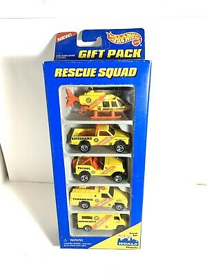 Vintage 1996 Hot Wheels World Playsets Rescue Squad Sealed Packaging