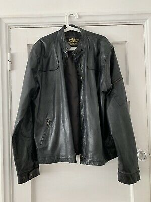 Vintage Leather Jacket Leathercult Custom Hand Crafted size XL Biker