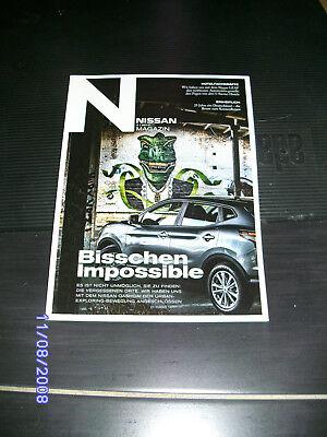 Nissan Magazin 3 / 2015 - Nissan Qashqai, Hotelfachkräfte, 25 Jahre Einheit