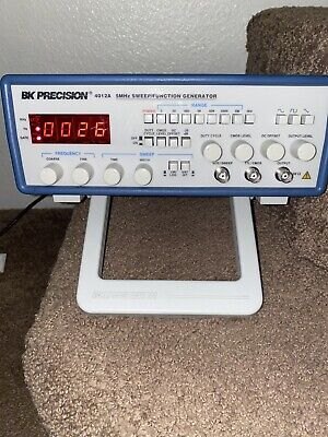 Bk Precision 4012a 5 Mhz Sweep Function Generator W 4 Digit Led Display